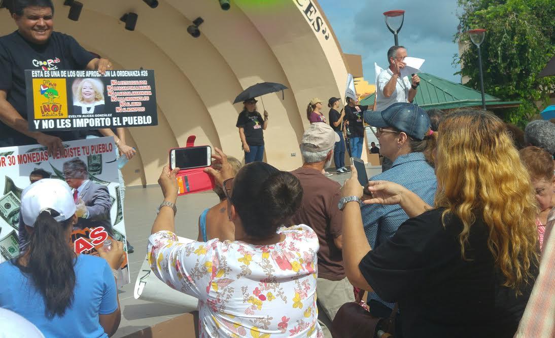 Manifestación en Cabo Rojo