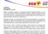Imagen presentando la denuncia de APR hacia la censura mediática de TeleVen
