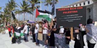 Manifestación Pro Palestina