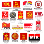 Logos de organizaciones en apoyo a la declaracion de apoyo a la rebelión colombiana 1